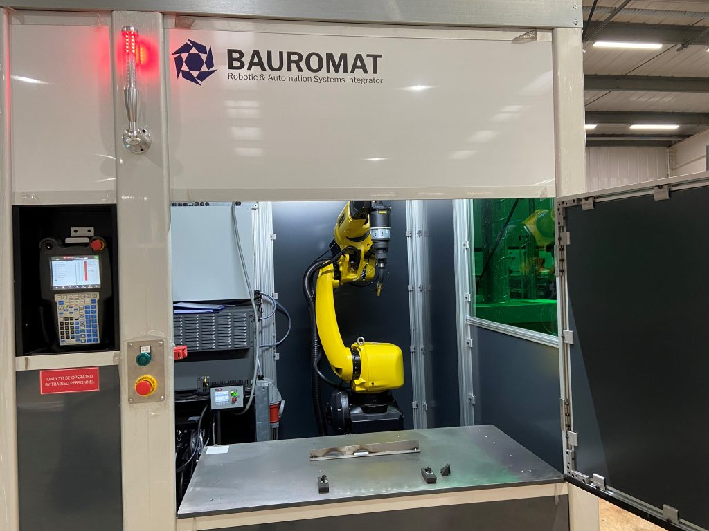 Bauromat welding cell visited by prime Minister