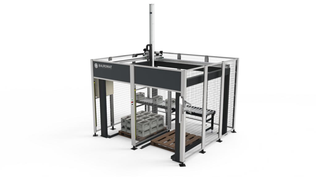 Bauromat automated packing system